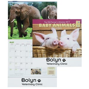 The Old Farmer's Almanac - Baby Animals - Stapled Main Image