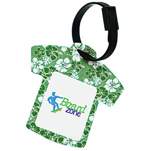 Aloha Hawaiian Shirt Luggage Tag Main Image