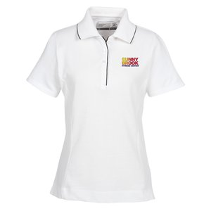 Cutter & Buck DryTec Tipped Polo - Ladies' - Closeout Main Image