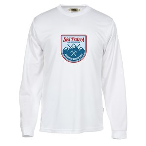Athletic Long Sleeve Performance Tee - Full Color Main Image
