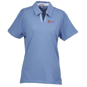 Velocity Piped Placket Polo - Ladies' - Closeout Main Image