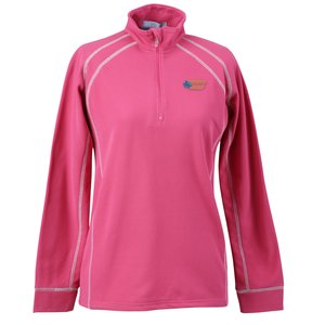 Vansport Lightweight Waffle 1/4 Zip Fleece-Ladies'-Closeout Main Image