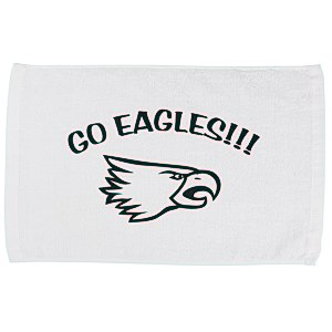 Sport Rally Towel - White Main Image
