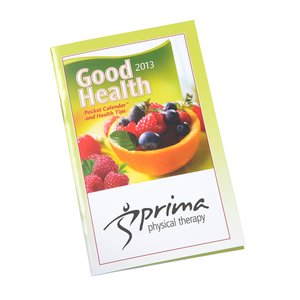 2013 Pocket Calendar & Guide - Good Health - Closeout Main Image