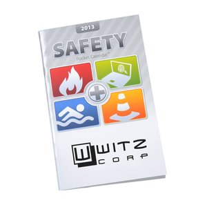 2013 Pocket Calendar & Guide - Safety - Closeout Main Image