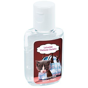 Hand Sanitizer - 1/2 oz. - Full Color Main Image