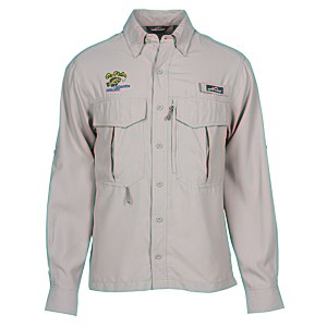 Eddie Bauer LS Moisture Wicking Fishing Shirt Main Image