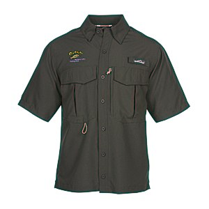 Eddie Bauer SS Moisture Wicking Fishing Shirt Main Image