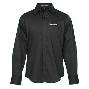 Wrinkle Resistant Stretch Poplin Shirt - Men's Main Image