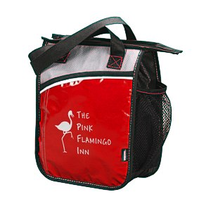 KOOZIE® Upright Laminated Lunch Cooler - 24 hr Main Image