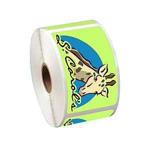 "Full Color Sticker by the Roll - Rectangle - 2"" x 3-1/2"""