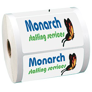 "Full Color Sticker by the Roll - Rectangle - 2-3/8"" x 3-3/4"""