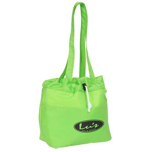 Drawstring Metro Lunch Tote Main Image