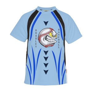 Athletic Colorblock Performance Tee - Dye-Sublimated Main Image