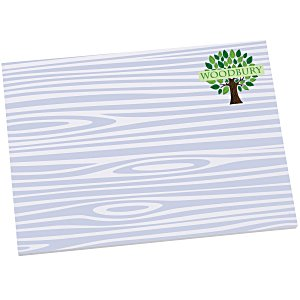 "Bic Sticky Note - Designer - 3"" x 4"" - Wood Grain - 25 Sheet Main Image"