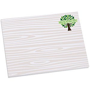Bic Sticky Note - Designer - 3x4 - Wood Grain - 50 Sheet Main Image