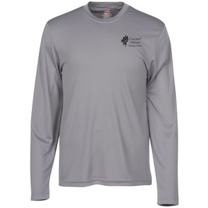 Hanes 4 oz. Cool Dri Long Sleeve T-Shirt Main Image
