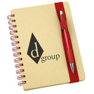 Bright Line Recycled Notebook w/Pen - Closeout Main Image