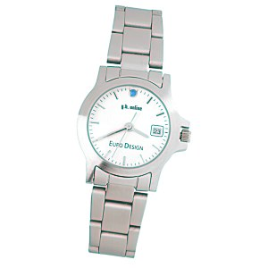 Hamburg Brushed Steel Watch - Ladies' Main Image