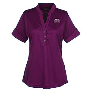 OGIO Hypnotic Henley - Ladies' Main Image