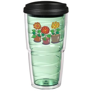 Full Color Swirl Insulated Travel Tumbler - 24 oz. Main Image
