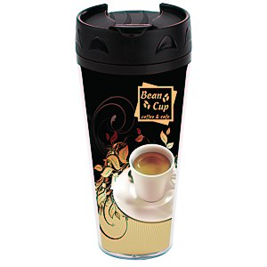 Full Color Voyager Insulated Travel Tumbler - 16 oz. Main Image