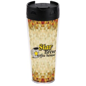 Full Color Voyager Insulated Travel Tumbler - 20 oz. Main Image