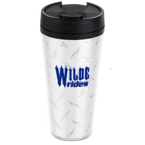 Diamond Plate Voyager Insulated Travel Tumbler - 16 oz. Main Image