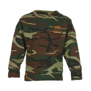 Code V Camouflage LS T-Shirt - Youth Main Image