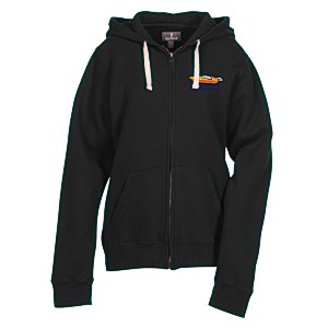 Huron Full-Zip Fleece Hoodie - Ladies' - 24 hr Main Image