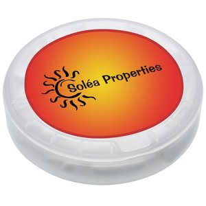 Round Flip Top Dispenser - Gum Main Image