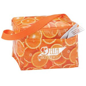 PhotoGraFX Six Pack Cooler - Oranges - Overstock Main Image