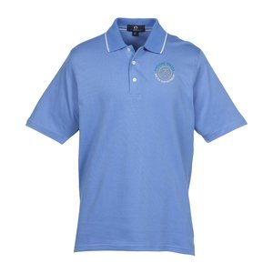 Vansport Micropima Nailhead Stripe Polo - Men's Main Image