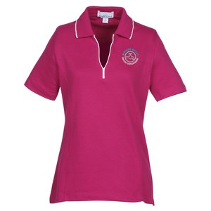 Vansport Micropima Nailhead Stripe Polo - Ladies' Main Image