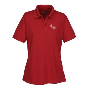 Vansport Recycled Drop Needle Tech Polo - Ladies' Main Image