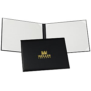 Double Award Folder - Ribbon Corners Main Image