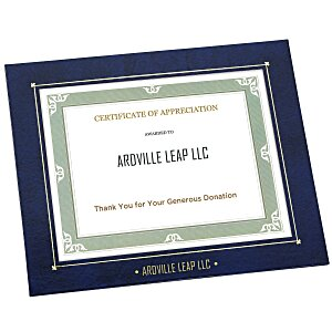 "Wrapped Edge Certificate Frame - 8"" x 10"""