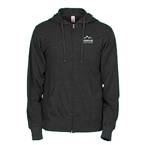 Independent Trading Co. 4.5 oz. Full-Zip Hoodie - Screen Main Image