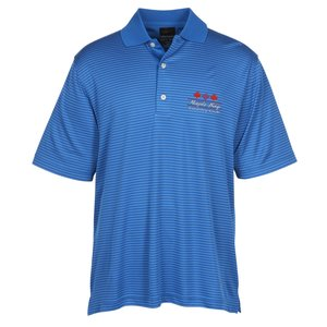 Greg Norman Play Dry Fine Stripe Polo Main Image
