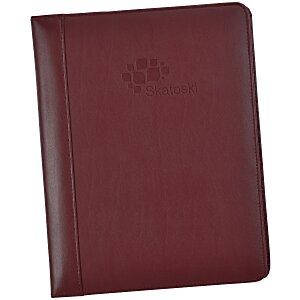 Vintage Leather Writing Padfolio Main Image