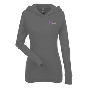 Next Level Soft Thermal Hoodie - Ladies' - Embroidered Main Image