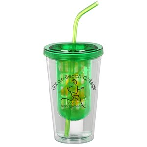 Flavorade Infuser Tumbler with Straw - 16 oz. Main Image