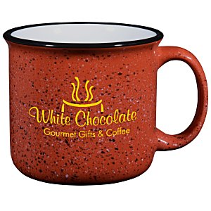 Campfire Ceramic Mug - Red - 15 oz. Main Image
