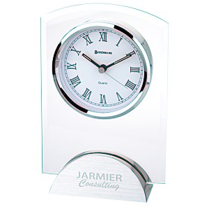 Arch Glass Clock Main Image
