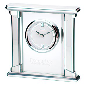 Allure Glass Clock Main Image