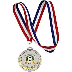 Victory Medal - Red, White & Blue Ribbon Main Image