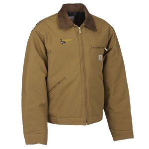 Carhartt Duck Detroit Jacket - Blanket Lined - 24 hr Main Image
