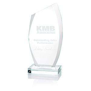"Radiant Starfire Glass Award - 10"" Main Image"
