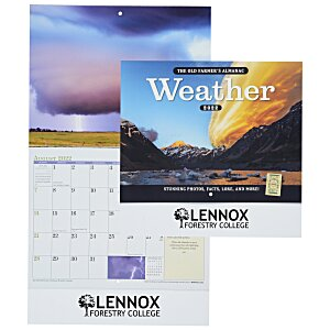 The Old Farmer's Almanac Calendar - Weather - Stapled- 24hr