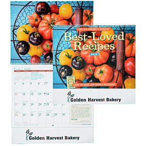 The Old Farmer's Almanac Calendar - Recipe - Spiral - 24 hr Main Image